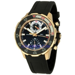 IWC Aquatimer Chronograph 18k Rose Gold Watch 3769-03